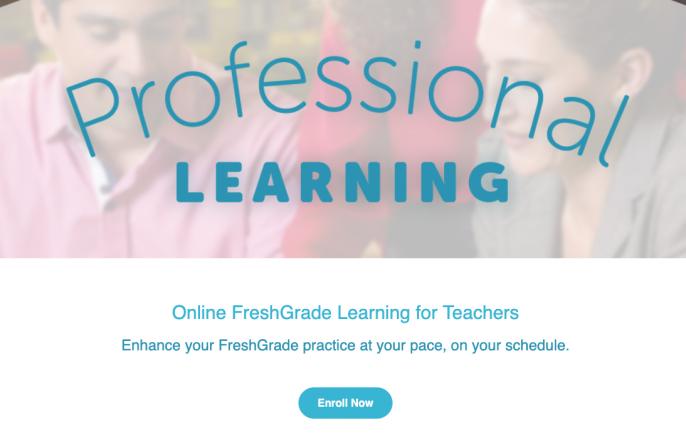 FreshGrade Learning Center